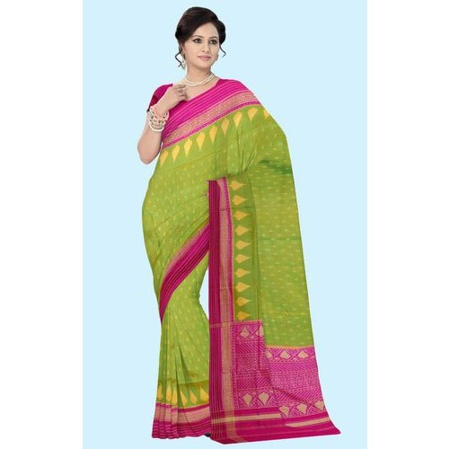 Pochampally Silk Saree, Length: 6.3 m (with blouse piece)