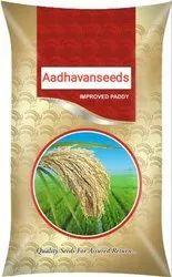 Sriaadhavanseeds Dried Improved Bold Paddy Seeds, Packaging Type: Bag