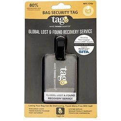 Airport Tracer Code Enabled Bag Security Tag