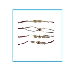 Trendy Look Pearl Rakhi