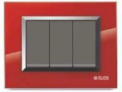 Valencia Series Red Switch Plate