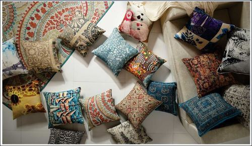 Cotton Rugs Designer Cushions