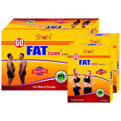 Herbal Go Fat Cure Fat Removal Capsules