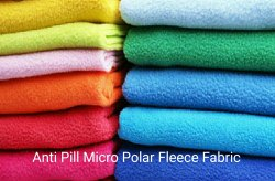 Anti Pilling Micro Polar Fleece Fabric