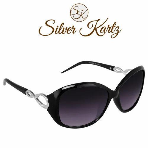1d6c5c8ee786e Male Silver Kartz Oval Unisex Sunglass WY053