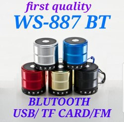 WS-887 Wireless Bluetooth Speakers