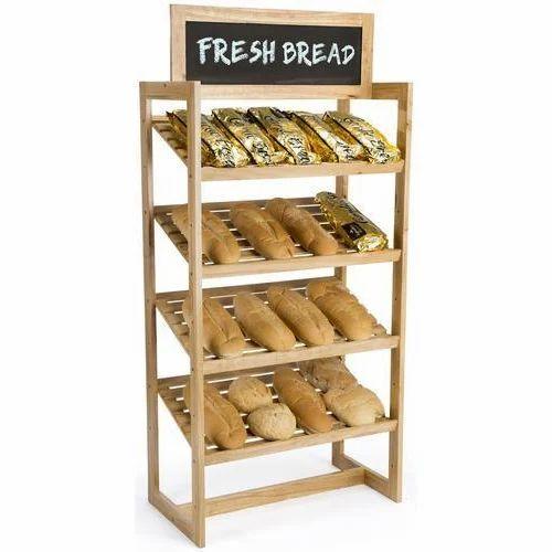 Bakery Wooden Rack