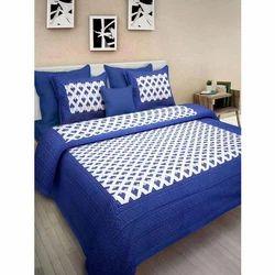 Designer Cotton Printed Bedsheet