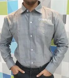 Thnest Full Corporate Slim Fit Shirt