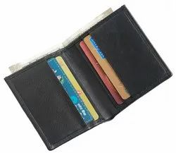 Genuine Leather Card Holder With RFID Blocking