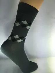 Cotton lycra gents socks
