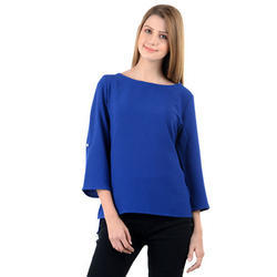 Ladies Blue Top