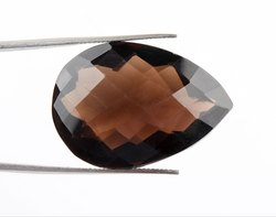 48Cts Designer Smokey Quartz Gemstone
