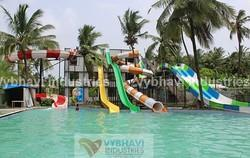 Water Park Tube Thrill Slides