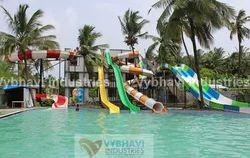 Water Park Tube Thrill Slides