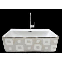 Rectangle Table Top Wash Basin