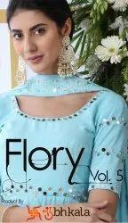 Shubhkala Flory Vol-5 Fancy Designer Salwar Suits Catalog