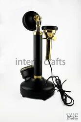15f53727cba Brass Black Interio Crafts Pure Matte Finish Candle Stick Working