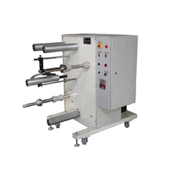 High Speed Side Loading Rewinder Machine