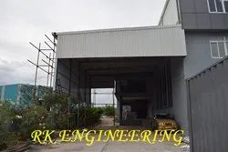Parking Shed Fabrication Service