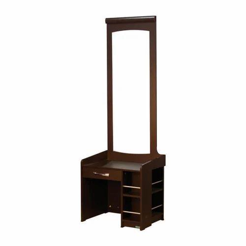 Wooden Dressing Table Makeup Desk ड र स ग ट बल New