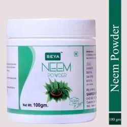 Seya Neem Powder, Packaging Size : 100gm