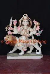 Marble Vaisno Devi Statue