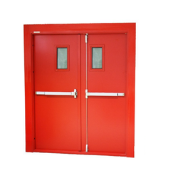Metal Hinged Fire Doors