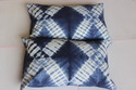 Shibori Print Pillow Cover