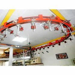 Three Wheel Over Head Conveyor