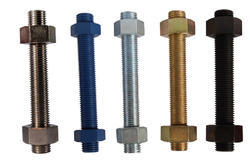 MS SS B7 Threaded Stud, For Industrial