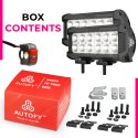 Autofy 12 LED 48 Watt 6 MONTHS WARRANTY Fog Light For All Bike Car SUV ATV (AFWLIGHT0004)