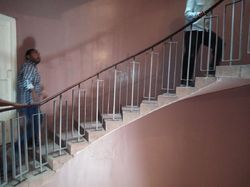 Office Building Stair Construction