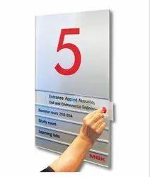 Modular Floor Directory Signage