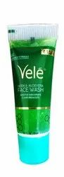 Green Vele Neem And Aleovera Face Wash, For Personal, Packaging Size: 15 Ml