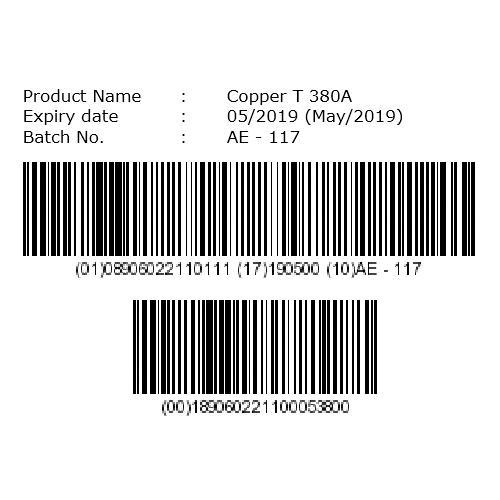 2D Barcode Label Tertiary Packaging Printing Service in