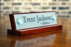 Customized Name Plates
