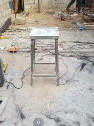 SVI Square 304 S S stool, For Hospital