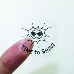 Transparent Foil Sticker