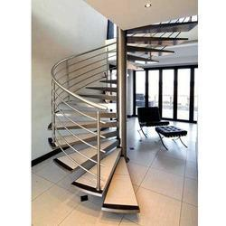 Stainless Steel Staircase Railing At Rs 750 /squarefeet | Kambar Street |  Chennai | ID: 15075247830