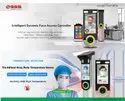 Face Mask Detection And Temperature Scanning Face Biometric Attendance System For Automatic Entry