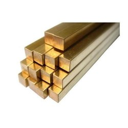 Navdeep Metals Brass Square Rod, For Industrial