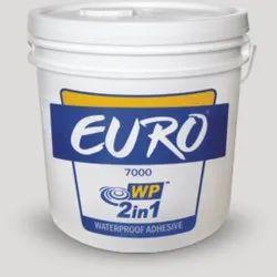 Liquid 50Kg Euro Wp 2in1 Waterproof Adhesive, Adhesive Grade: Marine, Packaging Size: 50 Kg