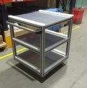 Aluminium Profile Store Trolley
