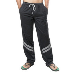 Charcoal Grey Melange Clifton Mens Track Pants