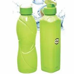 HDPE Flip Top Cap 1 Litre Water Bottle