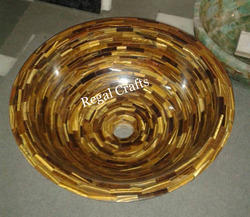 Tiger Eye Wash Basin