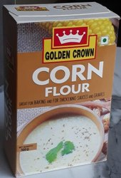 GOLDEN CROWN Indian CORN FLOUR, Speciality: High in Protein, Packaging Size: 500GM