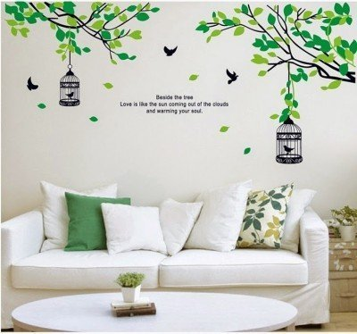 50c639b6945 Multicolor Multiple Decor Kafe Home Decor Nature Wall Sticker