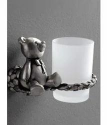 Viking Silver Tumbler Holder Bear for Home, Packaging Type: Box